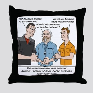 RockRockRock Throw Pillow