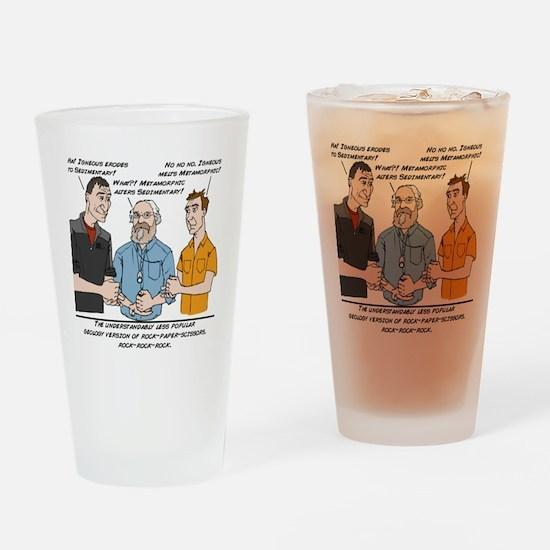 RockRockRock Drinking Glass