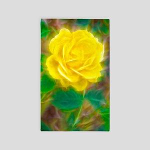 Yellow Rose 3'x5' Area Rug
