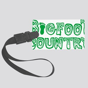 bigfoot country Large Luggage Tag