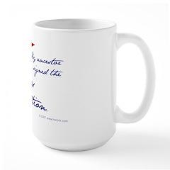 Texas Constitution Large Mug