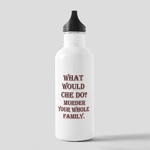 WWCHEDOblkredmurder10X Stainless Water Bottle 1.0L