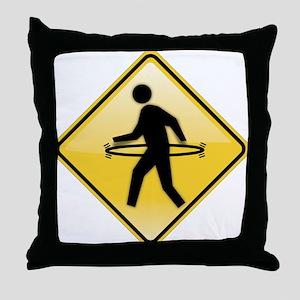 Hula-Walker Throw Pillow