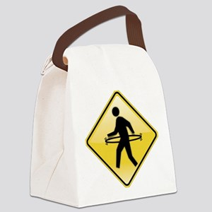 Hula-Walker Canvas Lunch Bag