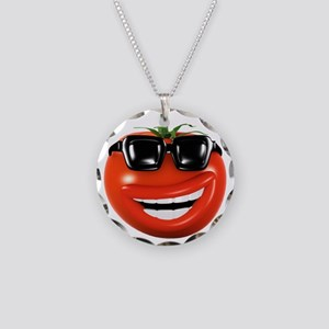3d-tomato-shades Necklace Circle Charm