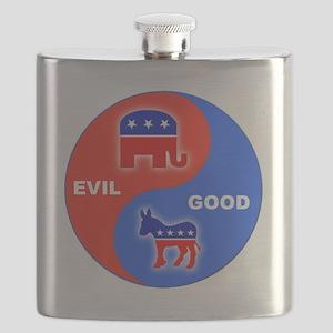 Good-Evil 12 Flask