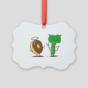 brocoli Picture Ornament