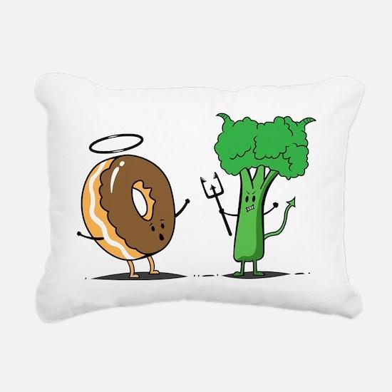 brocoli Rectangular Canvas Pillow