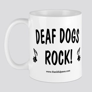 Deaf Dogs Rock Mug