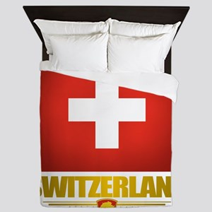 Switzerland (Flag 10) 2 Queen Duvet