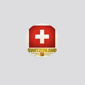 Switzerland (Flag 10) 2 Mini Button