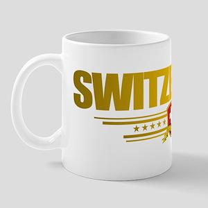 Switzerland (Flag 10) pocket 2 Mug