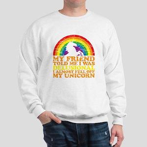 UNicorndrk copy Sweatshirt