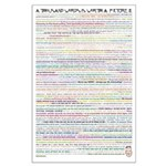 1000 Words is Worth III Large Poster