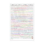 1000 Words is Worth III Mini Poster Print