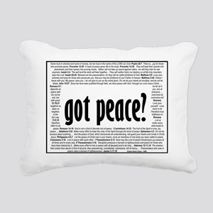 got peace6 Rectangular Canvas Pillow