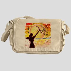 Katniss Radiant as The Sun Messenger Bag