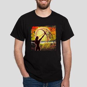 Katniss Radiant as The Sun Dark T-Shirt