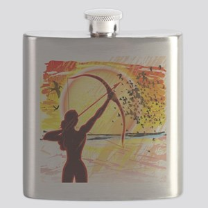 Katniss Radiant as The Sun Flask