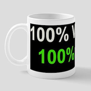 100%V100%I Mug
