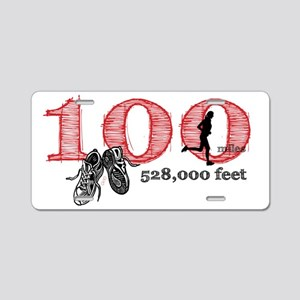 100rf Aluminum License Plate