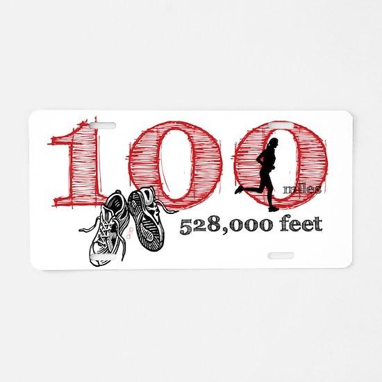 100rf Aluminum License Plate
