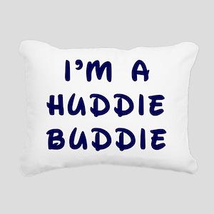 huddie buddie Rectangular Canvas Pillow