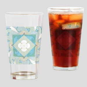 CardFront-Yemanja Drinking Glass