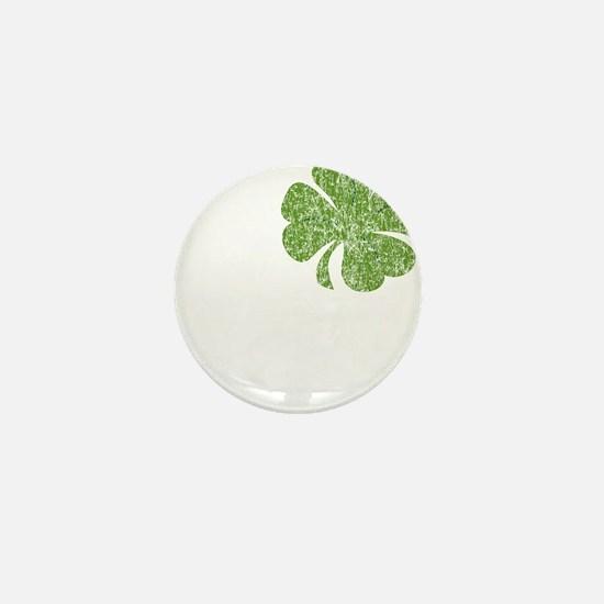 love_shamrock_white Mini Button