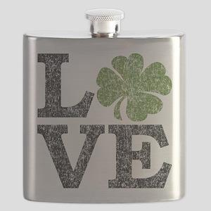 love_shamrock_black Flask