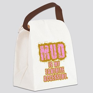 mudismyfavoriteaccessory Canvas Lunch Bag