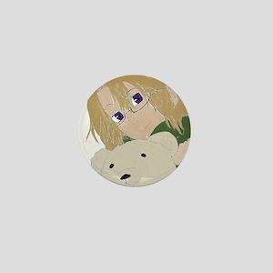 Canada and Kumajiro Mini Button