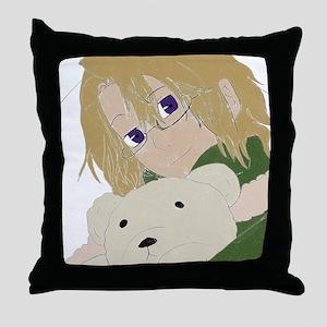 Canada and Kumajiro Throw Pillow