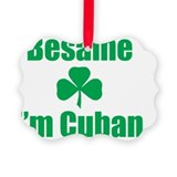 Irish cuban Picture Frame Ornaments