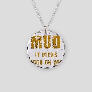 muditlooksgoodonyoudark Necklace Circle Charm