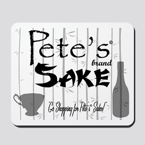 Petes Sake Mousepad