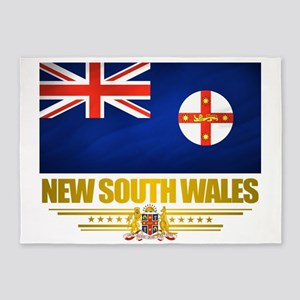 New South Wales (Flag 10) 2 5'x7'Area Rug