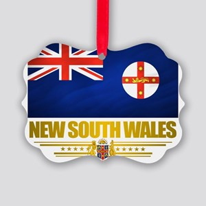 New South Wales (Flag 10) 2 Picture Ornament