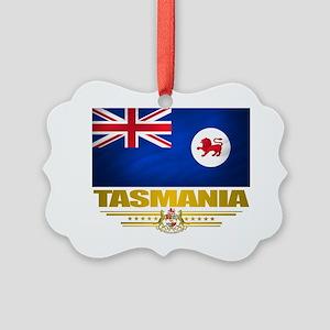 Tasmania (Flag 10) 2 Picture Ornament