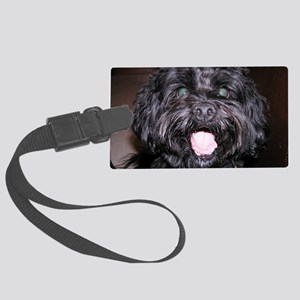 Cute Dog Large Luggage Tag