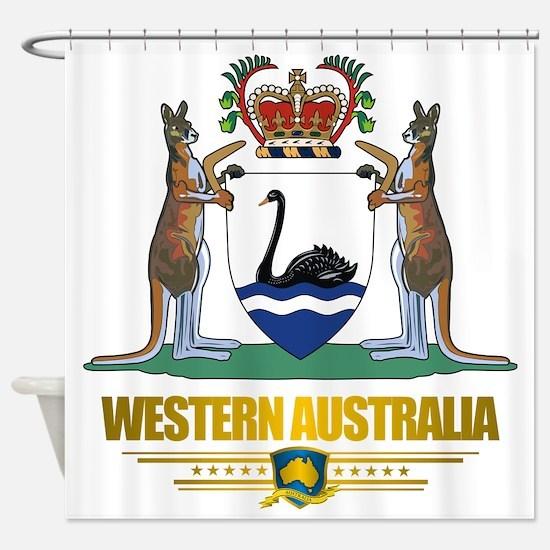 Western Australia COA 2 Shower Curtain