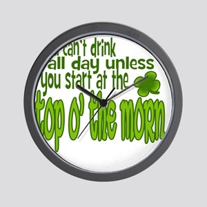 drink-all-day Wall Clock
