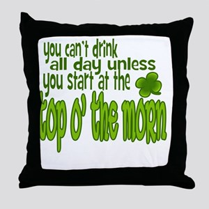 drink-all-day Throw Pillow