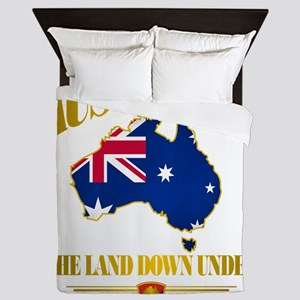 Land Down Under Queen Duvet