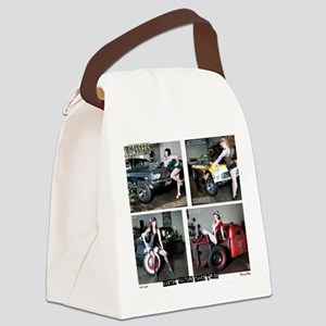 Ras  Gassers Calendar Canvas Lunch Bag