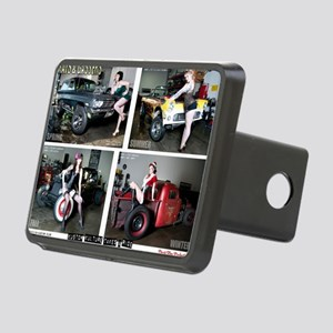 Ras  Gassers Calendar Rectangular Hitch Cover