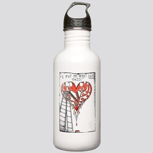 I PUT MY HEART INTO TH Stainless Water Bottle 1.0L