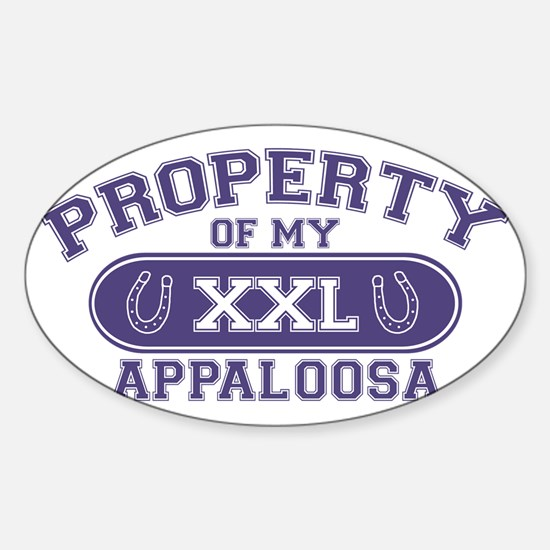appaloosaproperty Sticker (Oval)