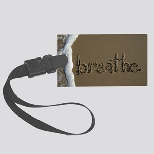 breathe Large Luggage Tag