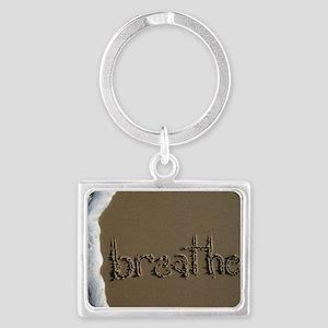 breathe Landscape Keychain